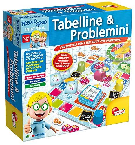 Piccolo Genio Talent School 48885 - Tabelline & Problemini