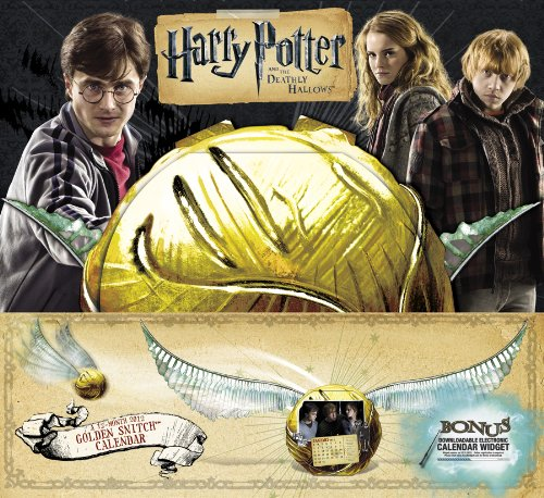 Harry Potter and the Deathly Hallows 2012 Calendar: Golden Snitch