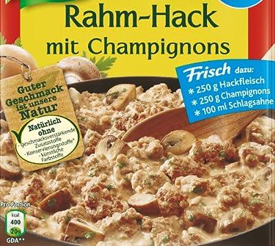 Knorr Fix für Rahm-Hack mit Champignons, 21er Pack (21 x 46 g) von Knorr - Gewürze Shop