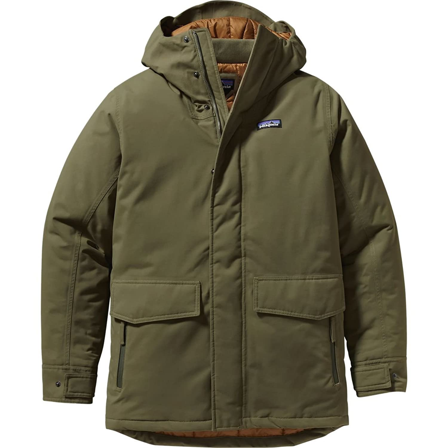 Patagonia M Stormdrift Parka – Fatigue Green – XL – Wasserdichter isolierter Herren H2No® Winterparka günstig