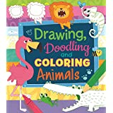 Animal Drawing, Doodling and Coloring