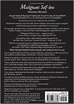 Malignant Self-Love: Narcissism Revisited: Sam Vaknin, Lidija Rangelovska: 9788023833843: Amazon.com: Books