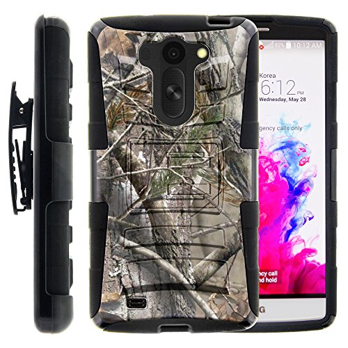 LG Vista Case, LG Vista Holster, Two Layer Hybrid Armor Hard Cover (Phone Case For Vista Lg compare prices)