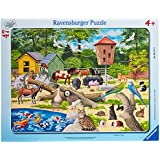 Ravensburger 06777 - Im Streichelzoo, 47 Teile Rahmenpuzzle