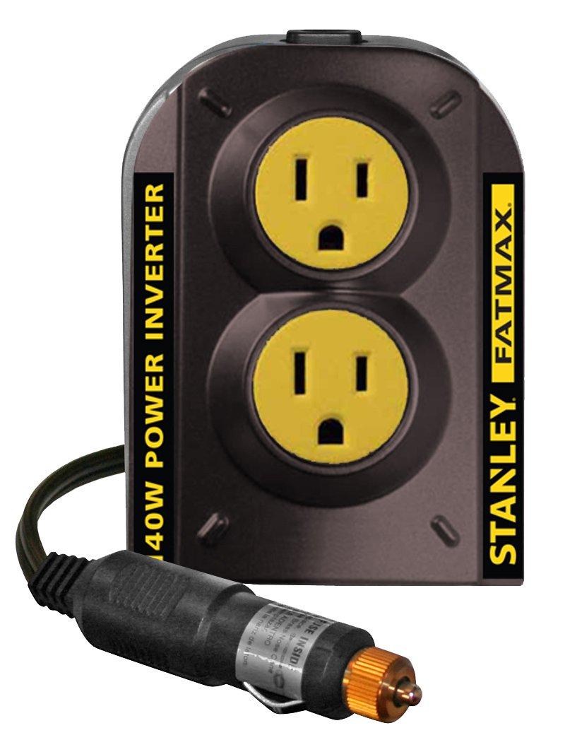 Top 10 Best Car Power Inverter 12 Volt Dc To Ac Cigarette Lighter Outlet 2001 Accessory Socket Stanley Fatmax Pci140 140w 12v 120v With Dual