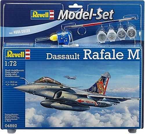 Revell-64892-Modellbausatz-inklusiv-Zubehr-Dassault-Rafale-M-im-Mastab-172