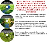 img - for The Down and Dirty Marketing, Success Principles and Inner Game for Blank DVD-R Media Web Biz 3 CD Course book / textbook / text book