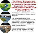 img - for The Best Promotion, Godfather Principles and Sales Models for Battery Powered Smoke Detectors Web Businesses 3 CD Power Pack book / textbook / text book