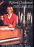 Richard Clayderman MEMORIES Songbook for Pianos plus practical Lead pencil contains 9 popular Piano pieces of french Pianist sheet musicsheet music