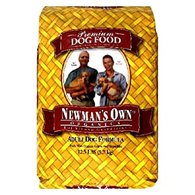 Newman's Own®Organics Adult Dog Food Chicken & Rice Formula, 12.5 Pound Bag