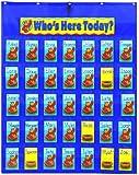 Carson Dellosa Attendance/Multiuse Pocket Chart (5644)