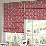 Presto Bazaar Gold Floral Tissue Embroidered Window Blind (84 Inch X 44 Inch)