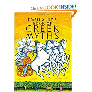 D'Aulaires' Book of Greek Myths - Ingri d'Aulaire