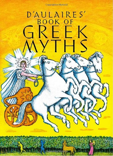PDF Online D'Aulaires' Book of Greek Myths by Ingri d'Aulaire, Edgar ...