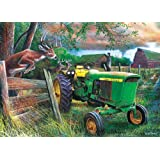 MasterPieces John Deere Crossing Jigsaw Puzzle, 1000-Piece