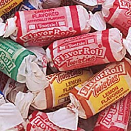 Tootsie Flavor Roll Twisties Candy 5lb Bag