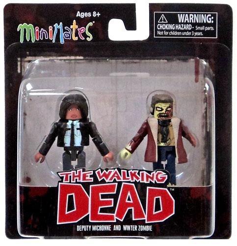 The Walking Dead Minimates Series 6 Minifigure 2-Pack <b>Deputy Michonne & Winter Zombie</b> - 1
