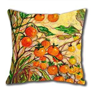 Illustration Painting No Contest Standard Size Design Square Pillowcase/Cotton Pillowcase with Invisible Zipper in 40*40CM 16*16(527)-527070 by Square Pillowcase