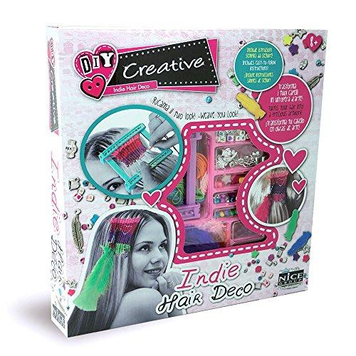 Indie Hair Deco 46003 -Set Creazione Perline