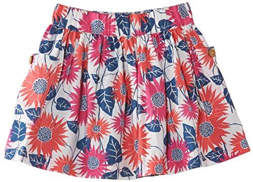 Kite Girl's Sunflower Reversible Floral Skirt, Multicoloured, 3 Years