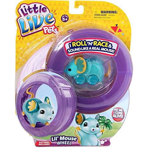 Moose Toys Little Live Pets S2 Lil' Mouse Wheel, Lucky Lou Lou (Lil Mermaid Shoes compare prices)