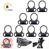 Ar15 End Plate,Ar15 Slinggs Adapter Mount,Ar15 Accessories Hand Mount Tools (8 Pack) (Color: 8 PACK)