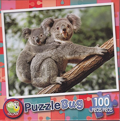 Puzzlebug 100 Piece Puzzle ~ Mother and Baby Koala Bears - 1