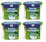 4 Interior dehumidifier, Absorbs damp crystals in box