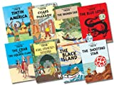 Herge Tintin Collection - 8 Books RRP £63.92 (Tintin in America, Cigars of the Pharaoh, The Blue Lotus, The Broken Ear, The Black Island, King Ottokar's Sceptre, The Crab with the Golden Claws, The Shooting Star)