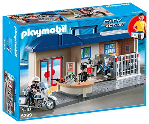 PLAYMOBIL Police Take Along Station