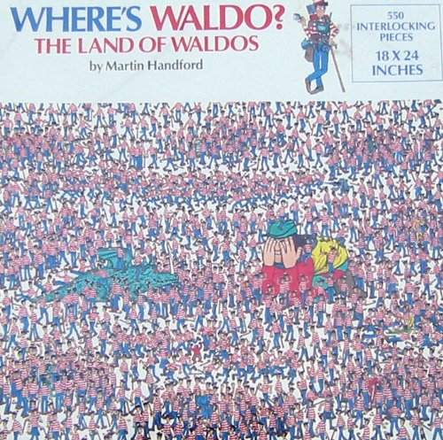 Great American WHERE'S WALDO? THE LAND OF WALDOS (B000PHH1YG)