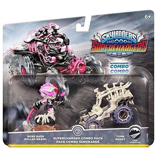 Skylanders SuperCharger - Bone Bush/Roller Brawl/Tomb Buggy