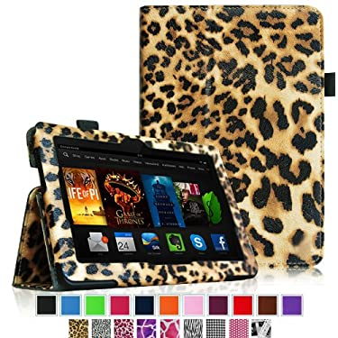 """Fintie Amazon All- Kindle Fire HDX 7 Folio Case Cover - Auto Sleep/Wake (will only fit Kindle Fire HDX 7"""" 2013)"""