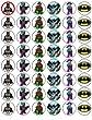 48 Lego Batman Cupcake Toppers