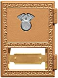 Salsbury-Industries-2051CL-Replacement-Door-and-Lock-Number-1-Size-for-Mailbox-with-Combination-Lock-Brass