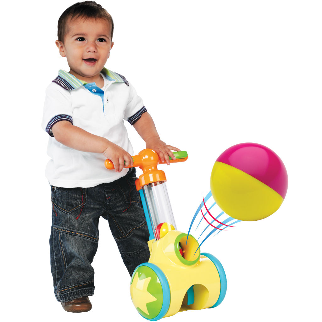 Toys For A Toddler : Amazon tomy pic n pop ball blaster baby toy toys