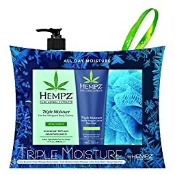 Hempz \'Hydrate Me\' Triple Moisture Limited Edition 2014 Holiday Gift Set
