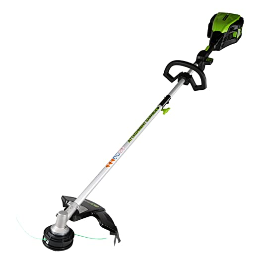 5. GreenWorks GST80320 80V 16-Inch String Trimmer, Battery and Charger Not Included