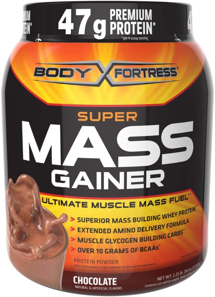 Amazon.com: Body Fortress Super Mass Gainer, Chocolate, 2