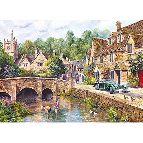 Gibsons Castle Combe Jigsaw Puzzle (1000-Piece)