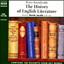 The History of English Literature Audiobook by Perry Keenlyside Narrated by Derek Jacobi