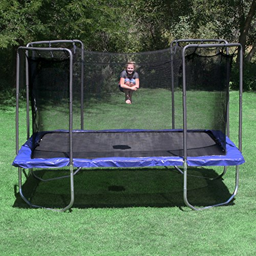 Skywalker Trampolines Square Trampoline With Enclosure