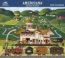 2013 Charles Wysocki  Americana Wall Calender