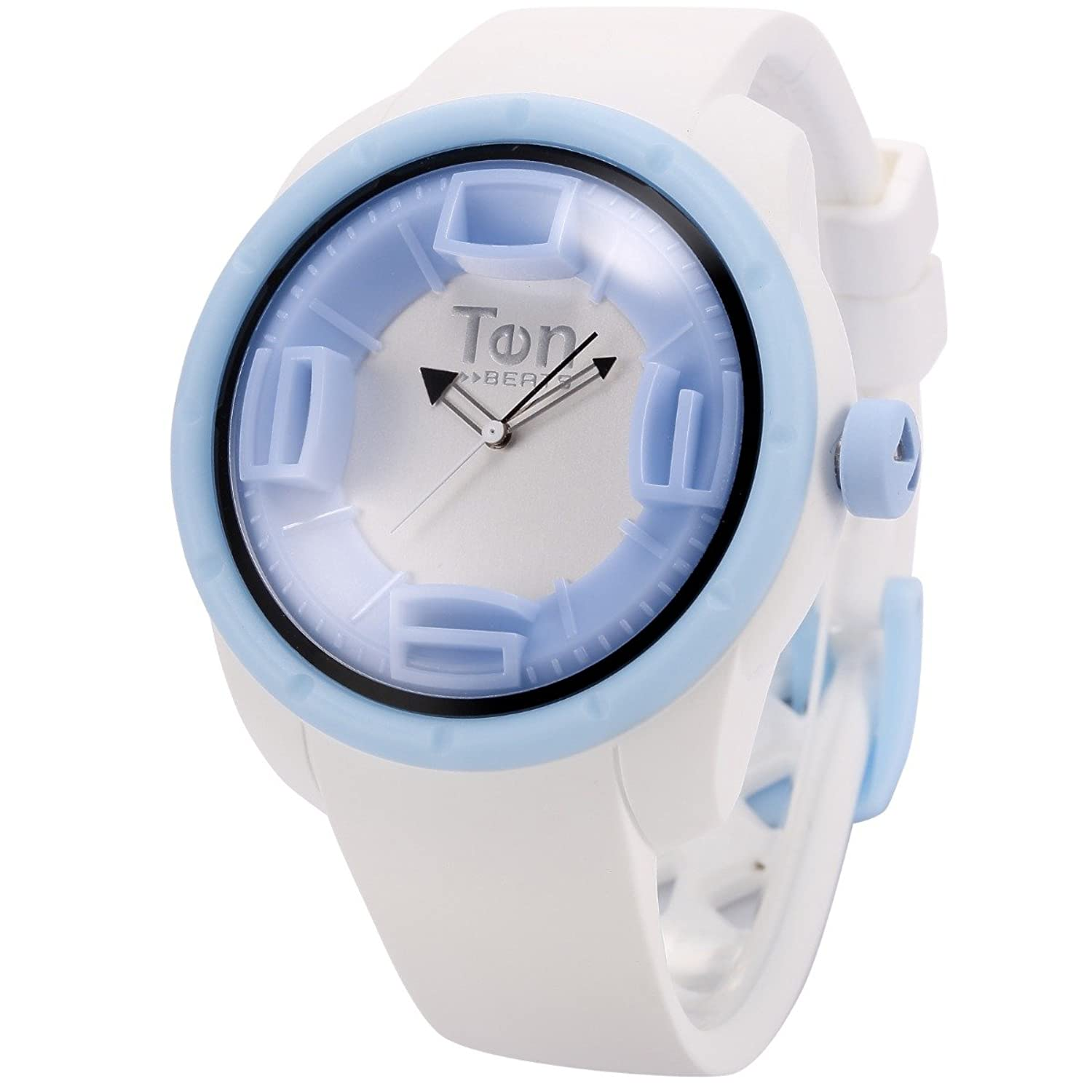 TENDENCE - Ten Beats Snow Unisex White Sillicone Analog Quartz Sport Wrist Watch - BF130205 ten years after ten years after undead expanded 2 lp 180 gr