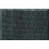 Apache Mills 0431902E Enviroback Apache Rib Doormat, Pepper, 18-Inch by 27-Inch