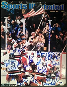 1980 USA Miracle on Ice Hockey Team Signed Photo - Signed by 23!