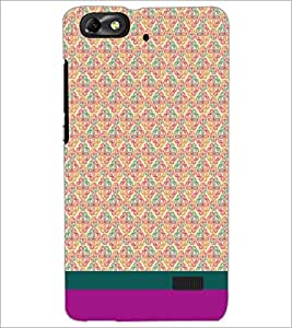 PrintDhaba Floral Pattern D-1883 Back Case Cover for HUAWEI HONOR 4C (Multi-Coloured)