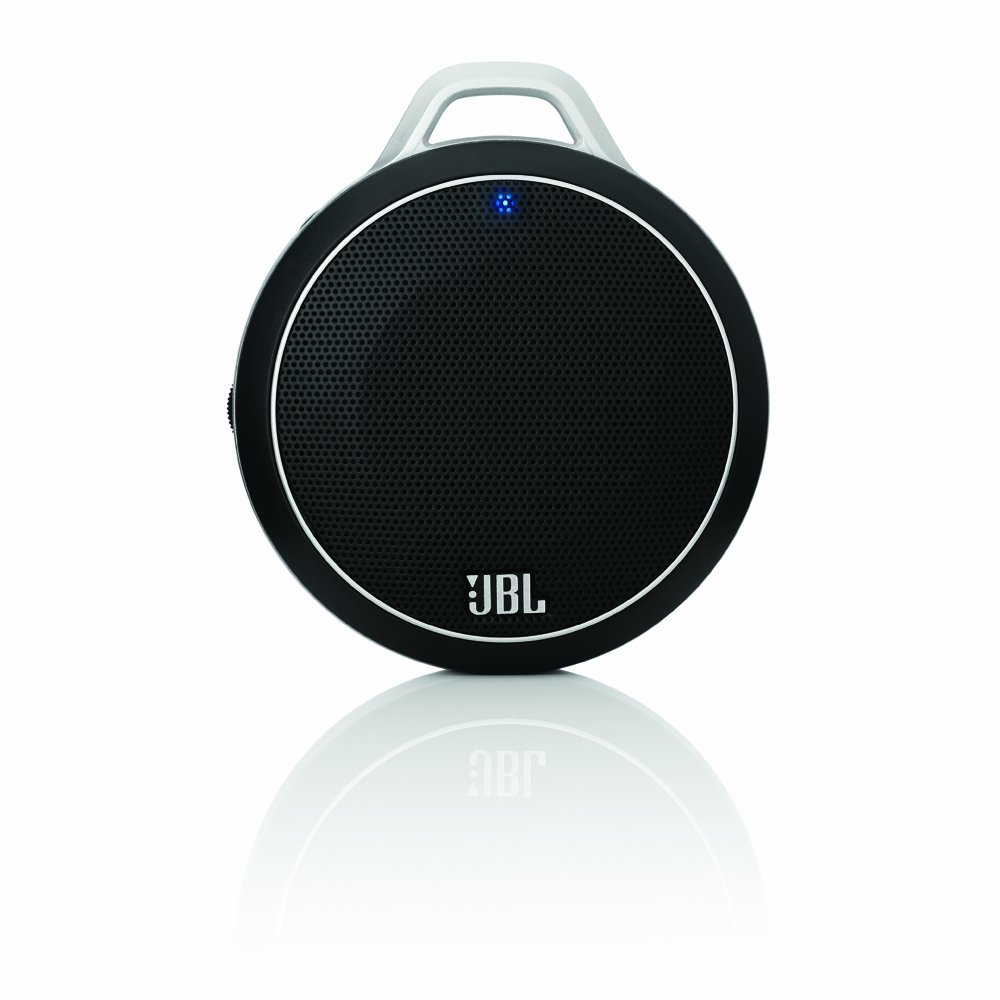 new jbl black micro wireless portable bluetooth speaker with built in bass port ebay. Black Bedroom Furniture Sets. Home Design Ideas