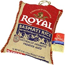 Royal Basmati Rice 15-Pound Bag