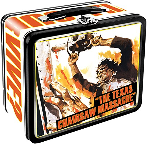 Aquarius Texas Chainsaw Massacre Large Tin Fun Box